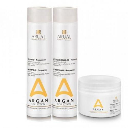 ARUAL Argan frequancy line for all hair type SET