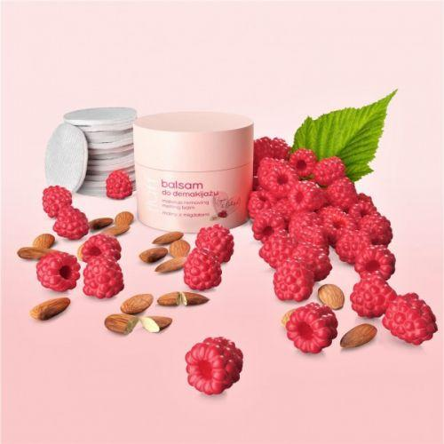 FLUFF MAKE UP REMOVING BALM RASPBERRIES WITH ALMONDS 50 ML