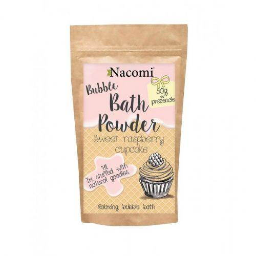 Nacomi -Bath Powder 150 G - Sweet raspberry cupcake.