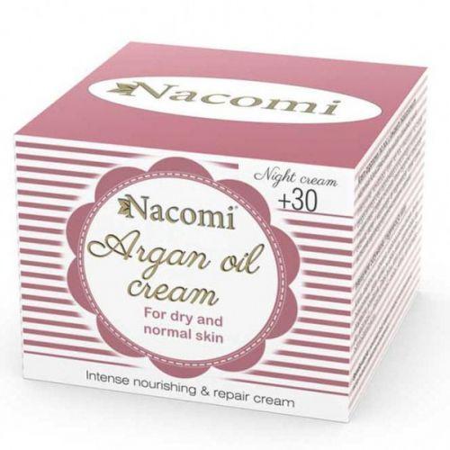 NACOMI ARGAN NIGHT CREAM WITH HYALURONIC ACID +30