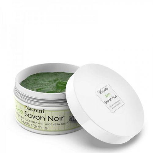 NACOMI BLACK SOAP SAVON-aloe