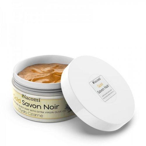 NACOMI BLACK SOAP SAVON- gold