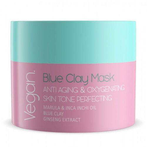 Nacomi :BLUE CLAY MASK - ANTI-WRINKLE BLUE OXYGENATING MASK 50 ml