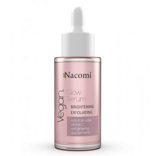 Nacomi - GLOW SERUM - BRIGHTENING AND EXFOLIATING