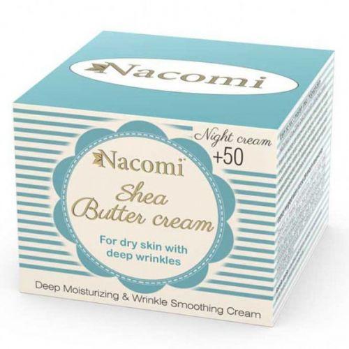 Nacomi - shea butter night cream +50