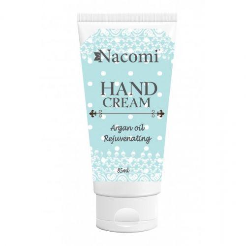 Nacomi - Natural argan hand cream - rejuvenation Hands are the showcase of a woman.