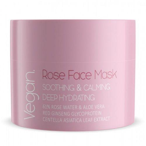 Nacomi - rose face mask SOOTHING AND CALMING