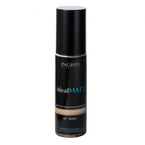 INGRID- Make up Foundation Ideal Matt 300A Light Nude