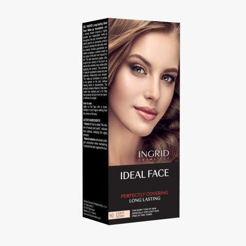 INGRID  Make up Foundation Ideal Face 10 Light Ivory