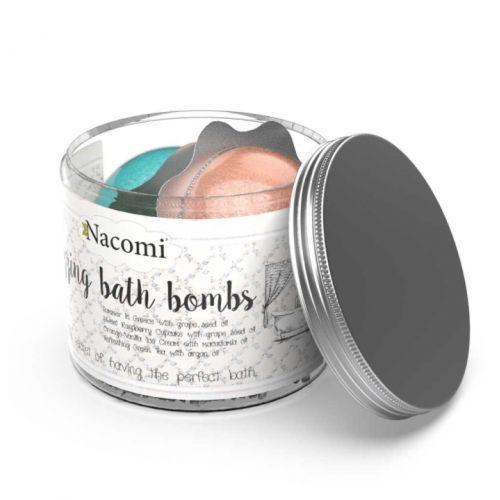 NACOMI - FIZZING BATH BOMBS MIX SET (4 PCS)
